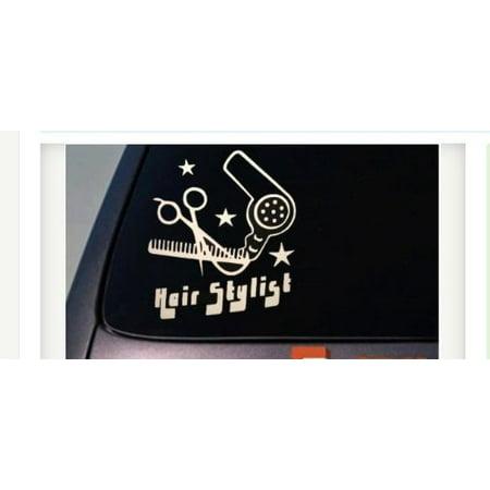 Hair Cut Stylist Beauty •A022• Parlor Salon Car Truck Window Wall Vinyl Decal Sticker 6