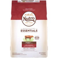 NUTRO WHOLESOME ESSENTIALS Adult Dry Dog Food, Beef & Brown Rice Recipe With Ancient Grains, 14 lb. Bag
