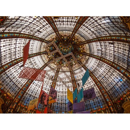 Canvas Print Lafayette Glass Galleries Structure Mall Ceiling Stretched Canvas 10 x (Lafayette Shopping Mall)