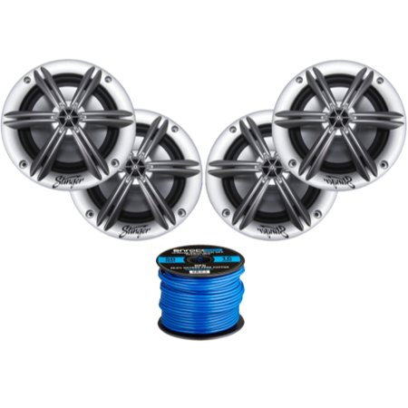 4 x Stinger PowerSports 6.5