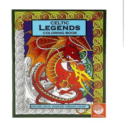 Celtic Legends Coloring Book By MindWare