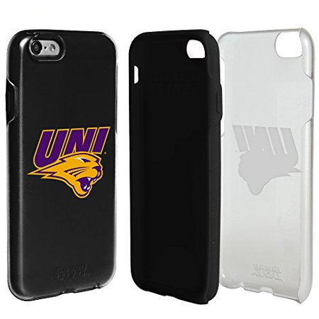 Northern Iowa Panthers Clear Hybrid Case For Iphone 6 6S With Black