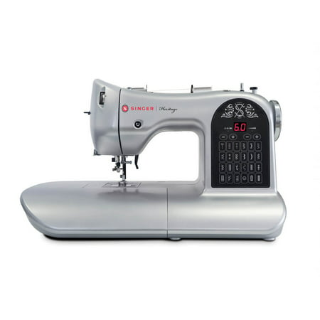 SINGER® Silver Heritage™ 8748 24 Stitch Electronic Sewing Machine (Clearance Sewing Machines)
