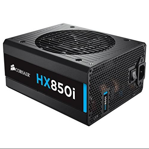 Corsair Hx850i Power Supply - 120 V Ac, 230 V Ac Input Voltage - 3.3 V Dc, 5 V Dc, 12 V Dc, -12 V Dc, 5 V Dc Output Voltage - 1 Fans - Internal - Modular (cp-9020073-na)