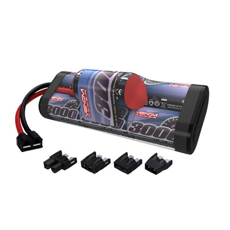 Traxxas Telluride 3000mAh 8.4V 7-Cell Hump Pack NiMH RC Battery by Venom (Nimh Rc Battery)