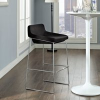 Modway Garner Bar Stool with Upholstered Seat, Multiple Colors