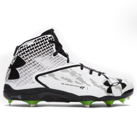 e1a60977eda Under Armour Men s UA Deception Mid DT Baseball Cleat - Walmart.com