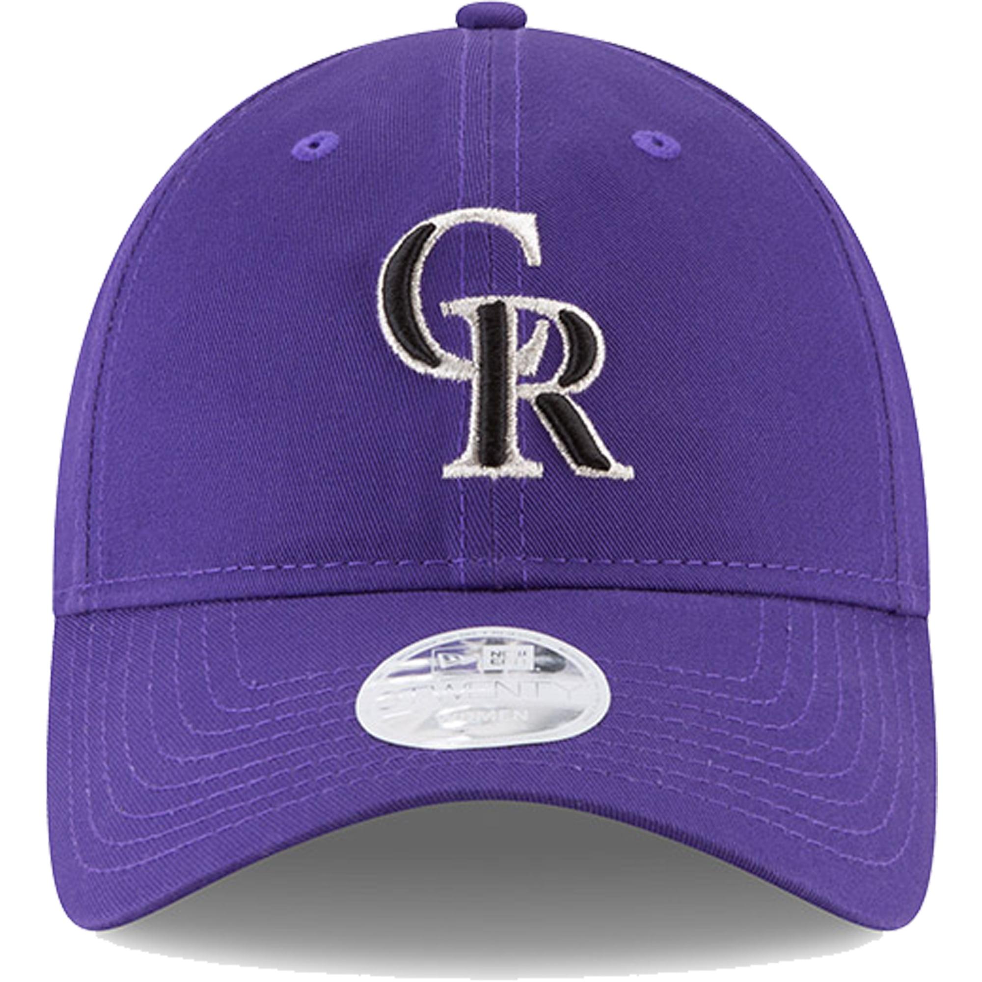 Colorado Rockies New Era Women s 2018 Postseason Side Patch 9TWENTY  Adjustable Hat - Purple - OSFA - Walmart.com 026ce369cc46