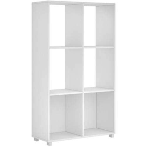 Image of Manhattan Comfort Accentuations 6-Shelf Natal 2.0 Bookcase