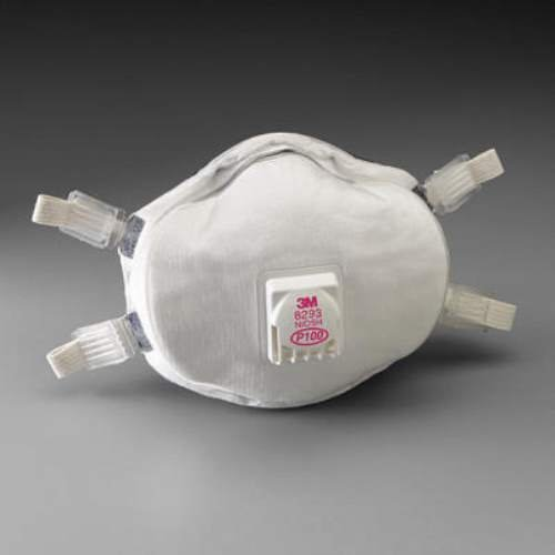 Model P100 Particulate Respirator (4 Each) by