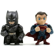 metals batman v superman 4 inch movie twin pack - batman & superman (m9)