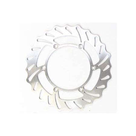 EBC Stainless Steel Brake Rotor - Rear Left (Contoured Profile) for KTM 500 EXC Brembo Calipers 1990-1991