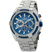 Invicta Bolt Chronograph Blue Dial Mens Watch 28045