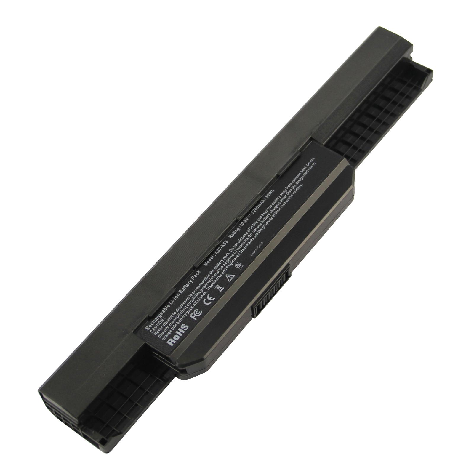 Replacement Battery for ASUS K53 K53E X54C X53S X53 K53S X53E 6cell, A32-K53