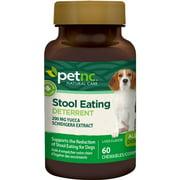 PetNC Natural Care Stool Eating Deterrent Chewables for Dogs, Liver Flavor 60 ea