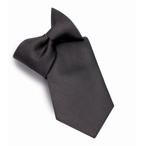george solid clip on tie walmart