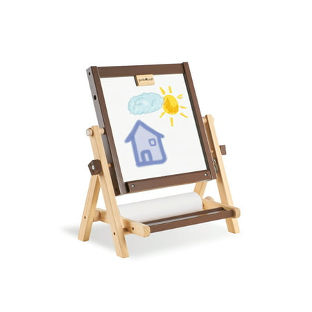 Guidecraft 4-in-1 Flipping Tabletop Easel (Learning Easel)