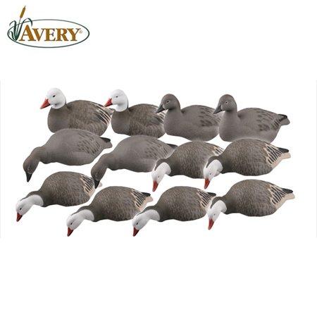 Avery GHG Pro-Grade Blue Goose Shells/Harv Decoys (Pk/12)