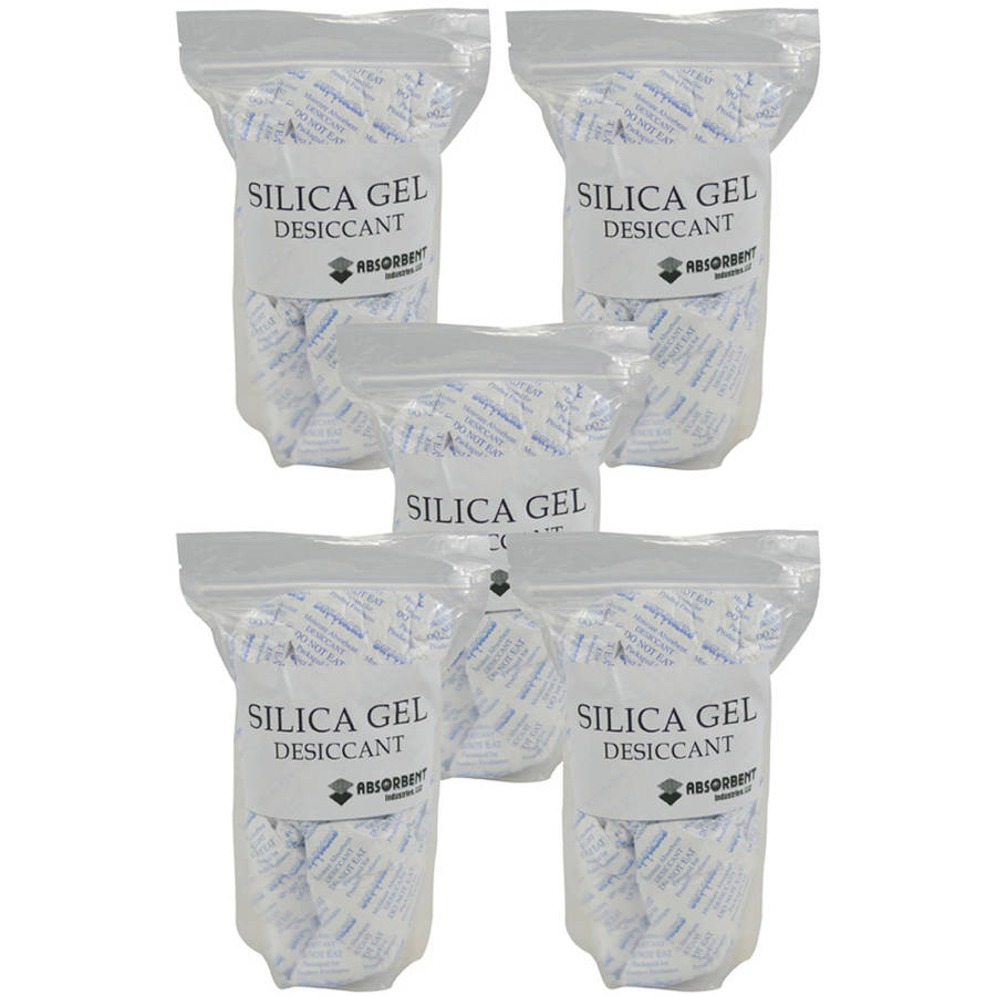 Image of Absorbent Industries 100g x 25pk Silica Gel Desiccant Moisture Absorber