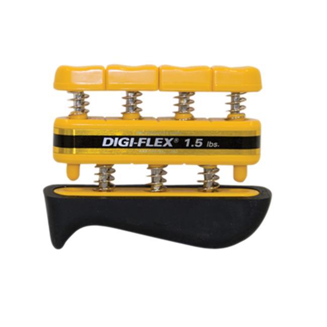 Cando Digi-Flex Hand Exerciser - Yellow, X-Light - Finger