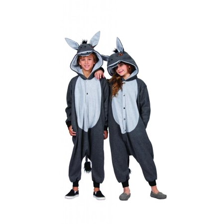 100 Acres Donkey Child Funsie Costume](Donkey Costumes For Kids)