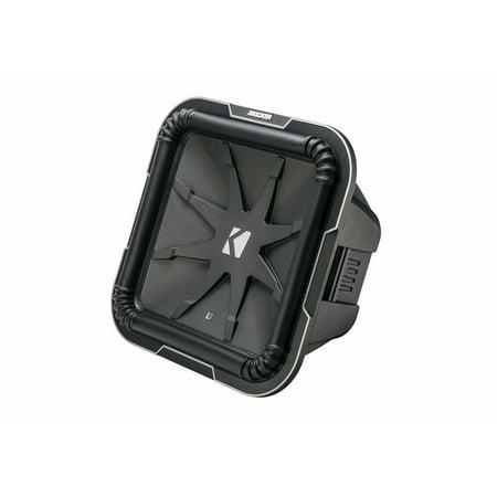 Kicker L715 Q-Class 15-Inch (38cm) Square Subwoofer, Dual Voice Coil 4-Ohm Hook Up Dual Voice Coil