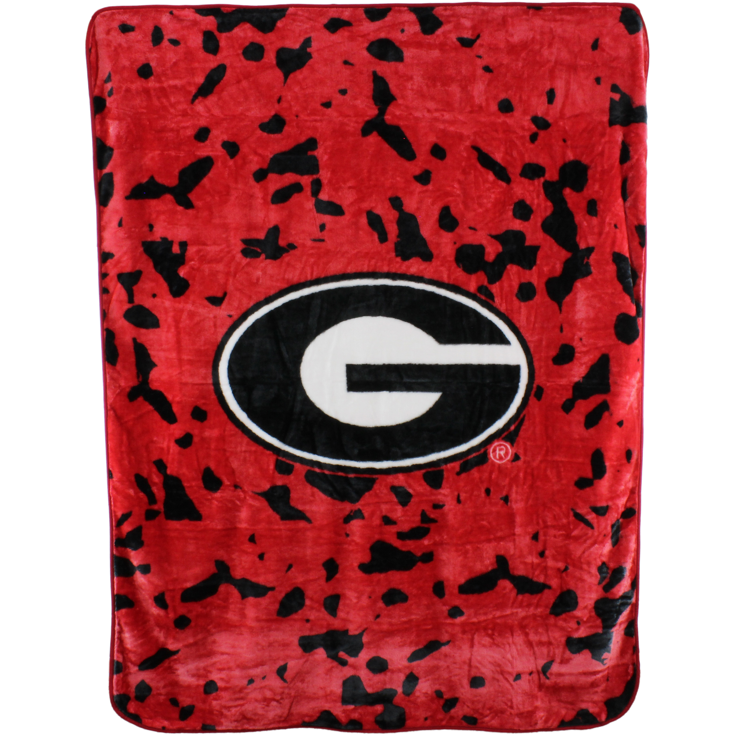 College Covers NCAA Georgia Bulldogs Raschel Plush Throw Blanket