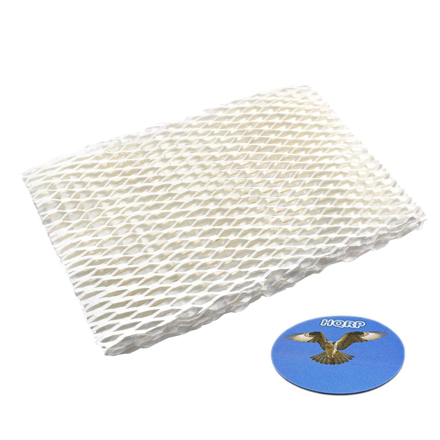 HQRP Humidifier Wick Filter for Honeywell HAC-700 / HAC-700PDQ / HAC700PDQV1 Filter B Replacement + HQRP Coaster