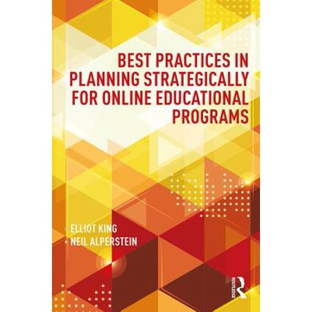 Best Practices in Planning Strategically for Online Educational