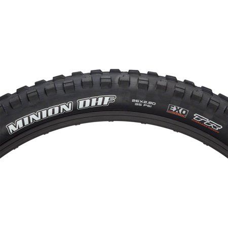 Maxxis Minion DHF Front 26 x 2.8 Tire 60tpi Dual Compound EXO Casing