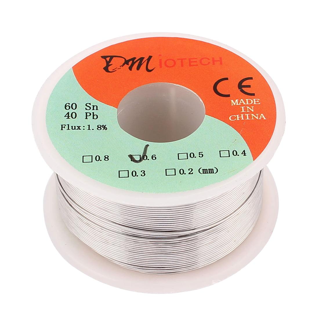 DMiotech 0.6mm 100g 60/40 Tin  Roll Soldering Solder Wire Reel