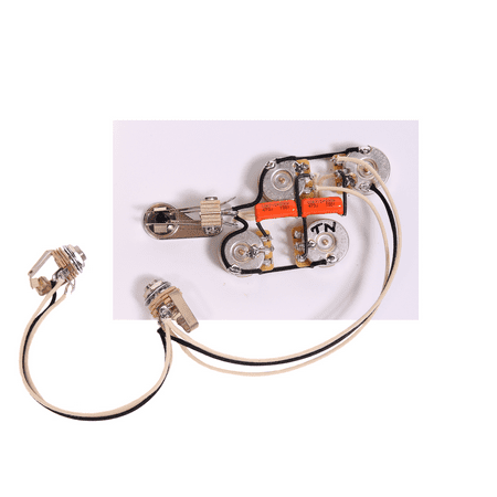 920D Custom Shop Wiring Harness for Rickenbacker 4000 Series Bass Guitar, Stereo Custom Bass Guitar Bodies