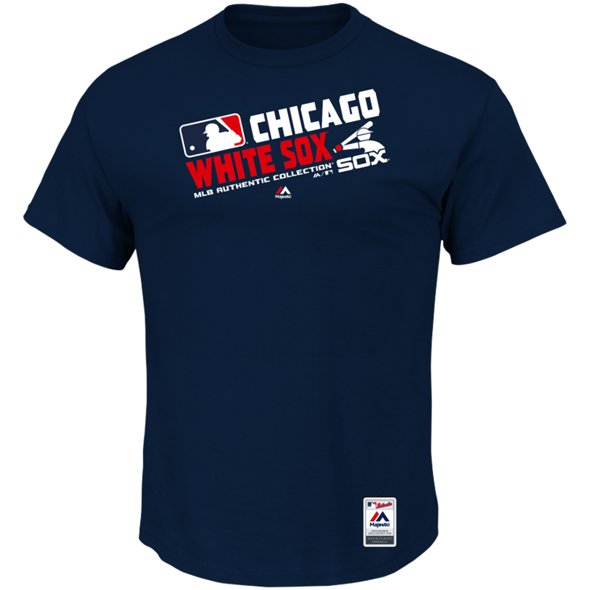 Chicago White Sox Majestic Team Choice T-Shirt - Navy