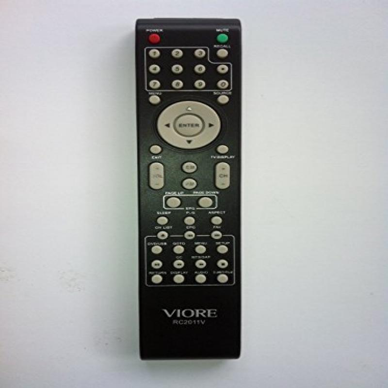 US New Viore Rc2011v Remote Control for Lcd22vh56 Lcd19vh...