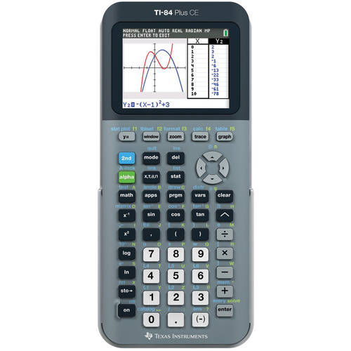 TI-84 Plus CE Graphing Calculator by Texas Instruments
