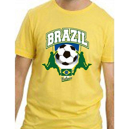 Brazil Soccer Yellow T-Shirt (Intensity Soccer T-shirt)