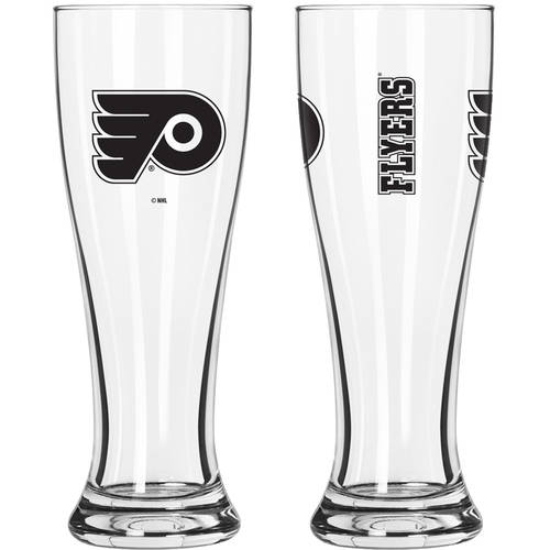 Boelter Brands NHL Philadelphia Flyers 2-Pack Gameday Pilsner Set