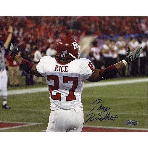 Steiner Sports Ray Rice International Bowl TD Celebration Autographed