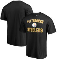 Pittsburgh Steelers NFL Pro Line by Fanatics Branded Victory Arch T-Shirt - Black