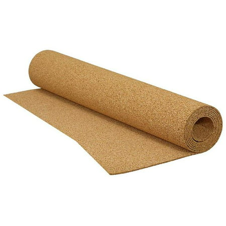 QEP 72008Q 200 sq. ft. 4 ft. X 50 ft. x 0.12 in. Cork Underlayment Roll for Ceramic Tile, Stone, Marble & Engineered -