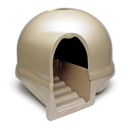 Booda Dome Clean Step Litter Box Nickel Walmart Com