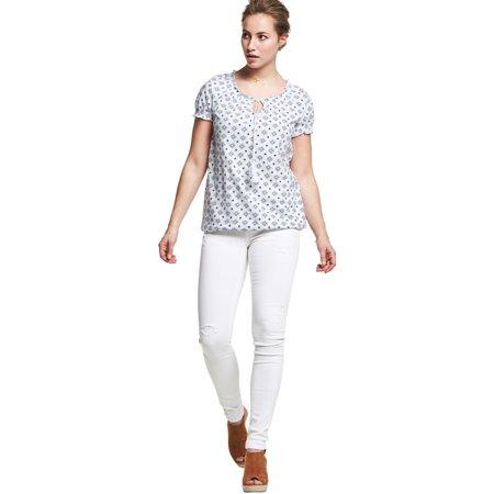7c6413dfb0c0d Ellos - Plus Size Distressed Skinny Jeans - Walmart.com