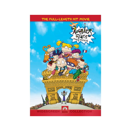 Rugrats In Paris: The Movie (DVD) - The Rugrats Halloween Vhs