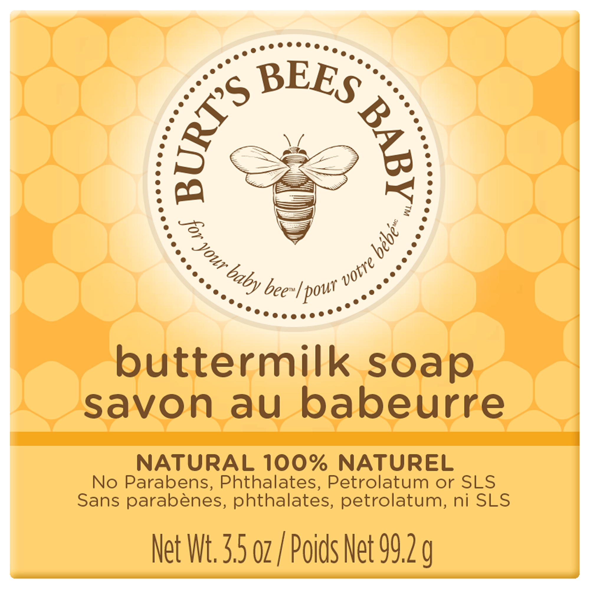 Burt's Bees Baby 100% Natural Soap, 3.5 oz