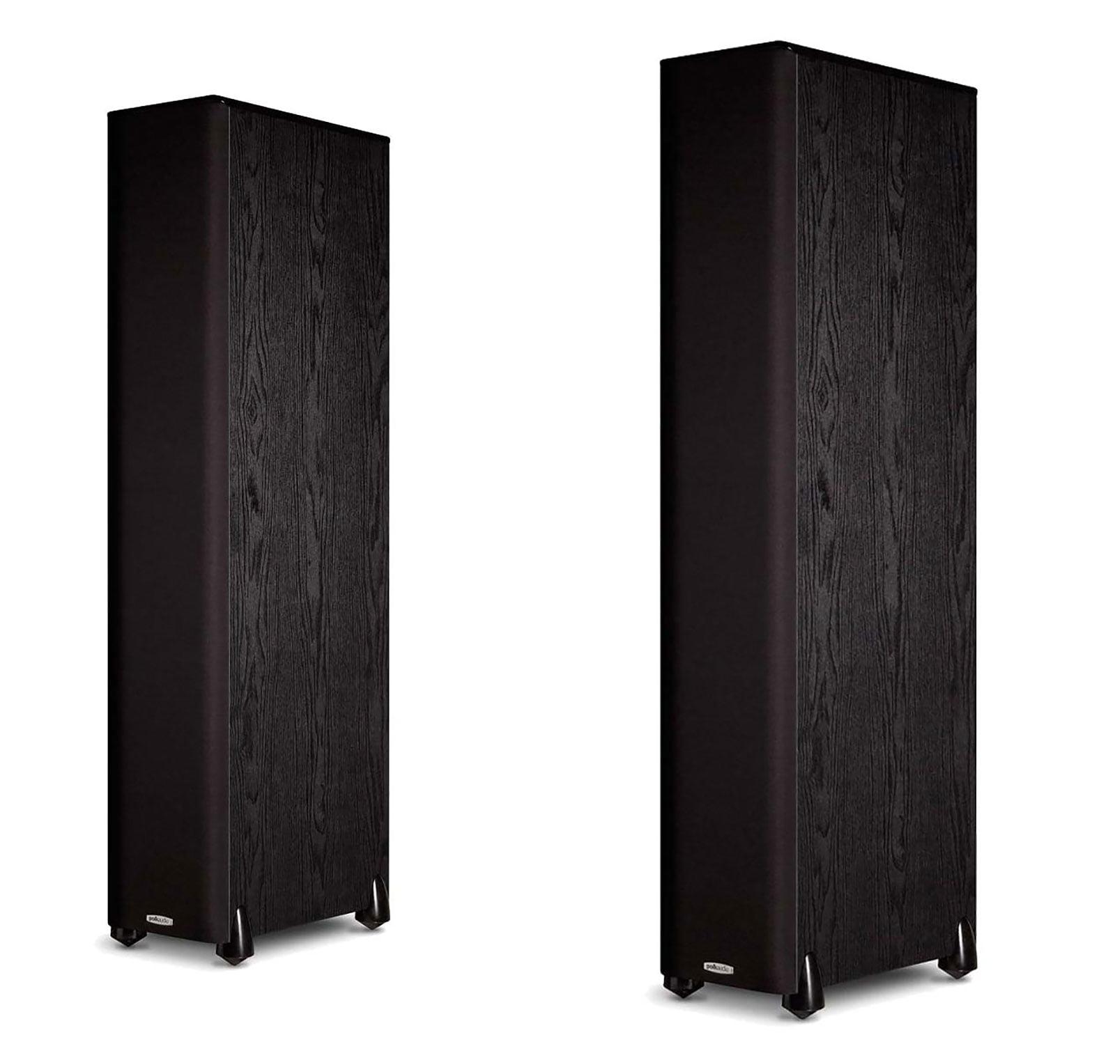 JBL Polk Audio TSi 500 Black - (Pair) 2-Way Tower Loudpeakers