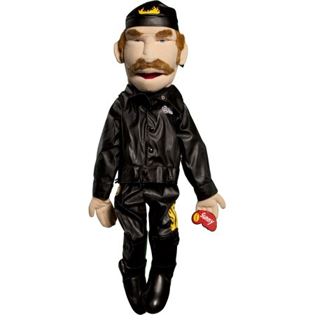 Sunny Toys GS2815 28 In. Biker - Male In Leather, Sculpted Face - Man Eating Plant Puppet