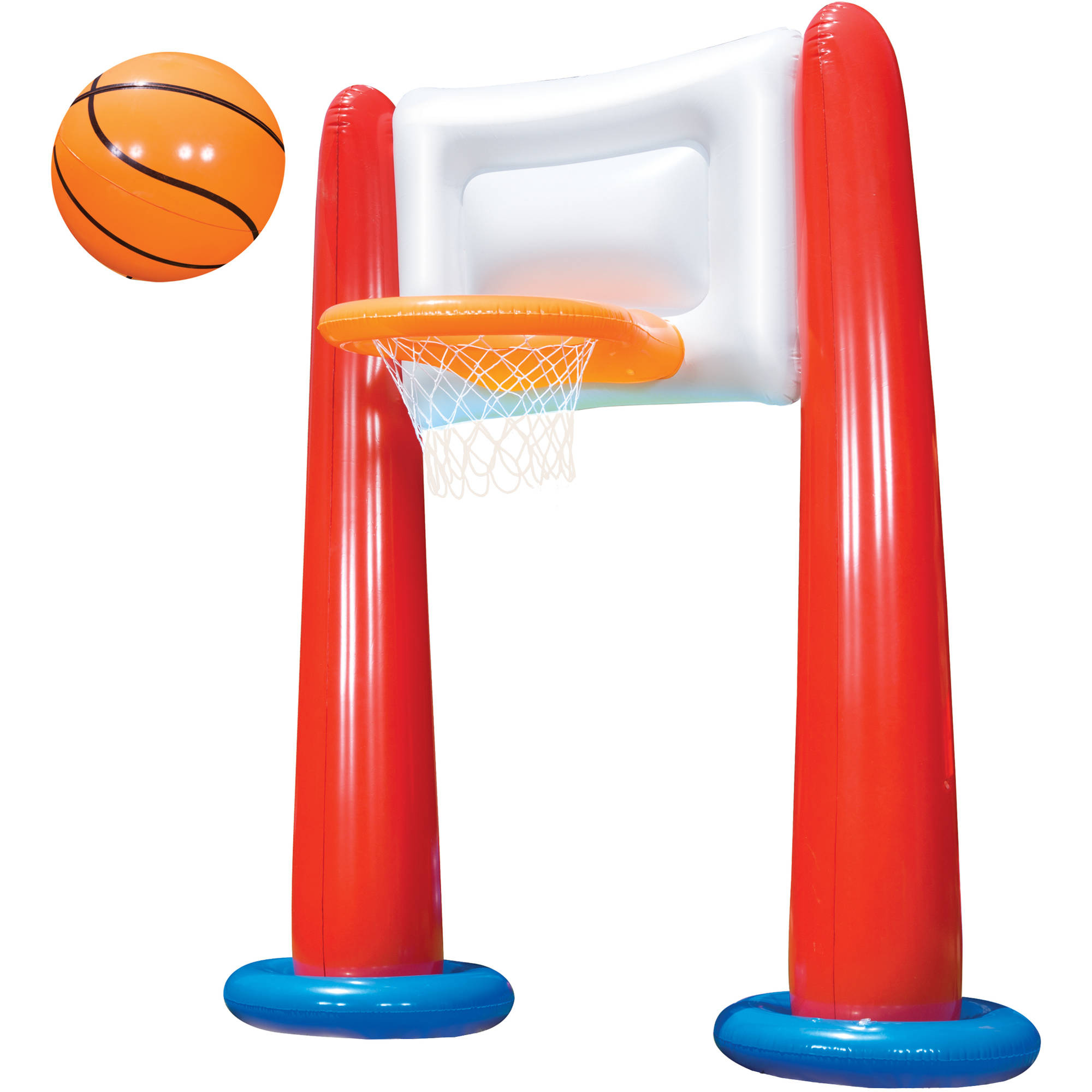Banzai Mega All-Star Basketball Set with Inflatable Backboard and Ball by Banzai