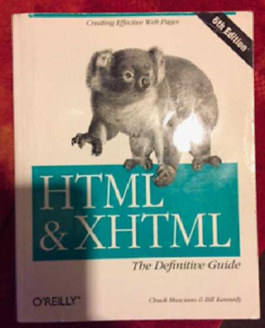HTML THE DEFINITIVE GUIDE EBOOK DOWNLOAD