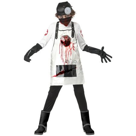 Open Heart Surgeon Child Costume - Surgeons Halloween