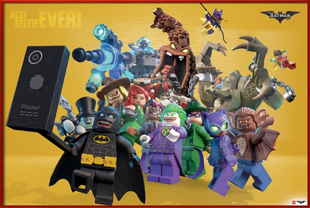 "The Lego Batman Movie Movie Poster   Print (Best Selfie EVER!) (Size: 36"" x 24"") by"